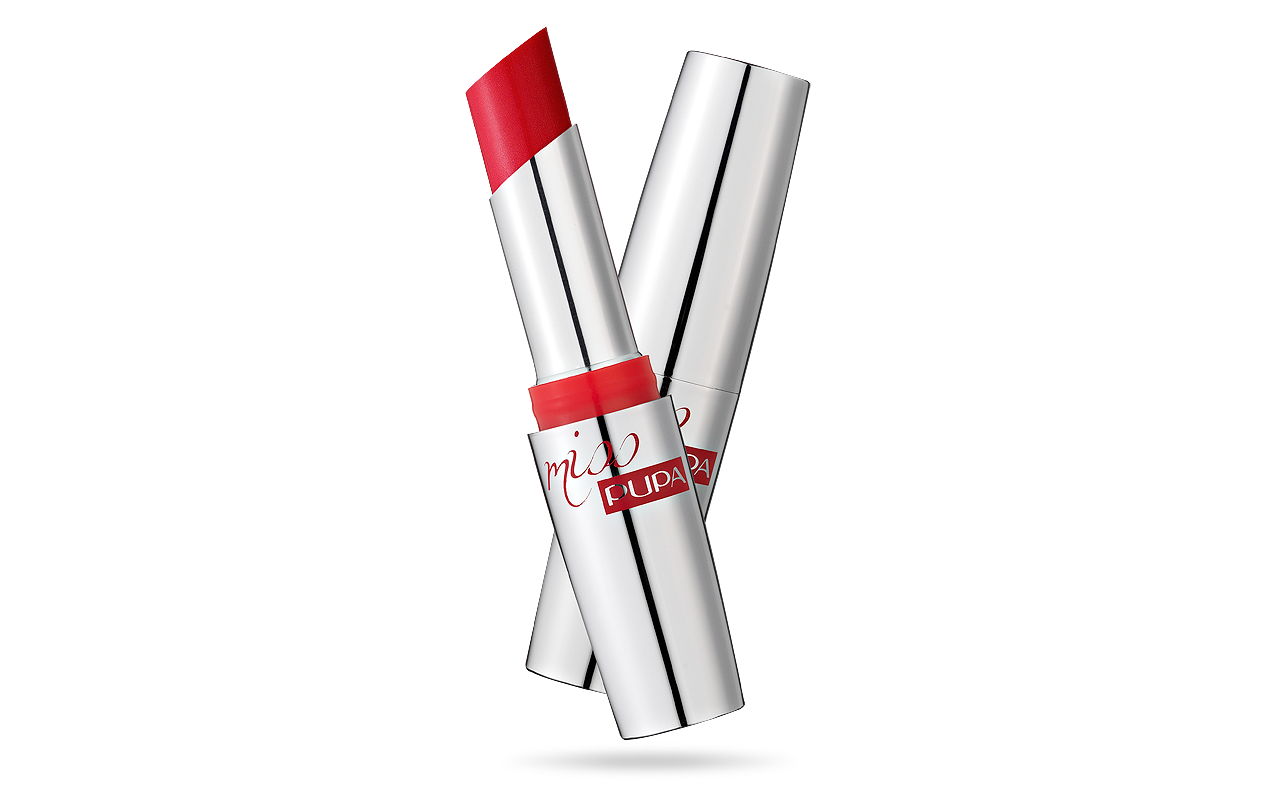 Pupa Miss Pupa lipstick nr 505 True scarlet