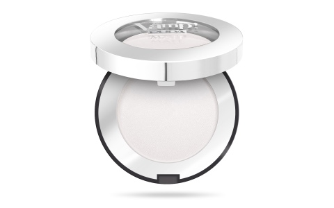 Pupa Vamp oogschaduw compact Matt 010 White Chalk