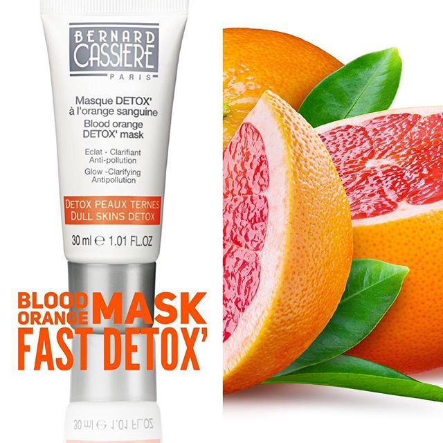 Bernard Cassiere Masker detox met bloedappelsien