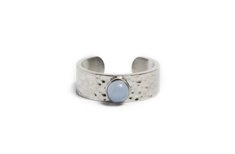 Silis Ring Gypsy stud silver