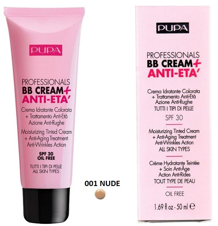 Pupa BB crème anti age light medium skin