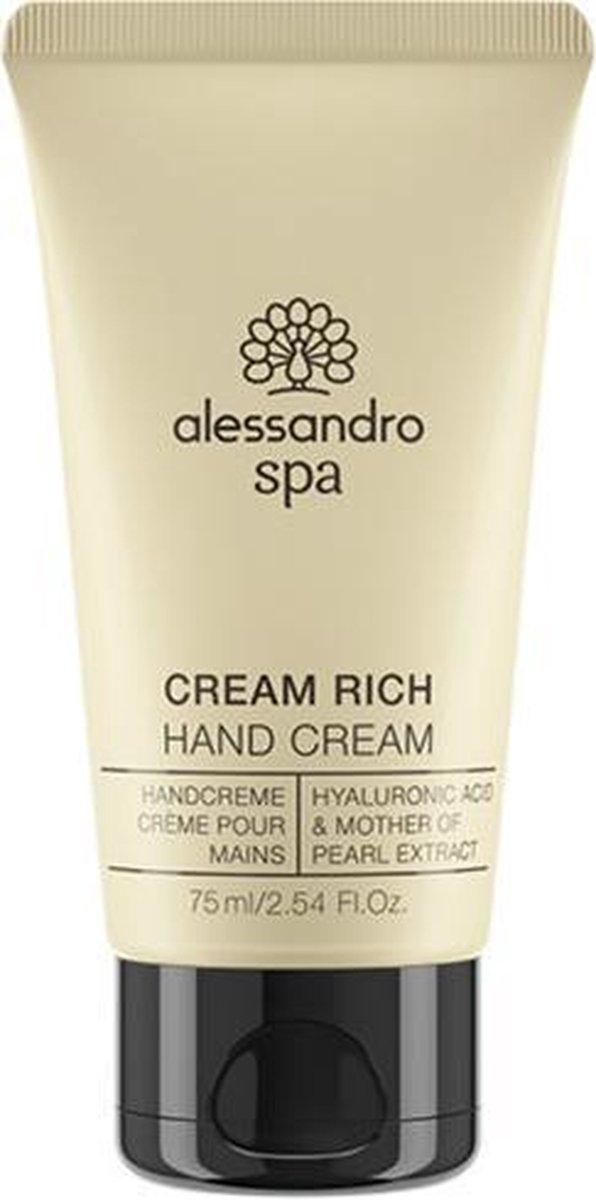 Alessandro Spa hand care cream riche