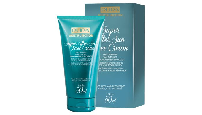 Pupa milano super after sun gezichts crème
