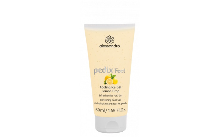 Alessandro Pedix feet Cooling ice gel Lemon drop (voeten)