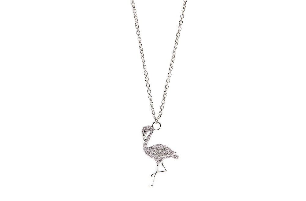 Silis halsketting flamingo So silver