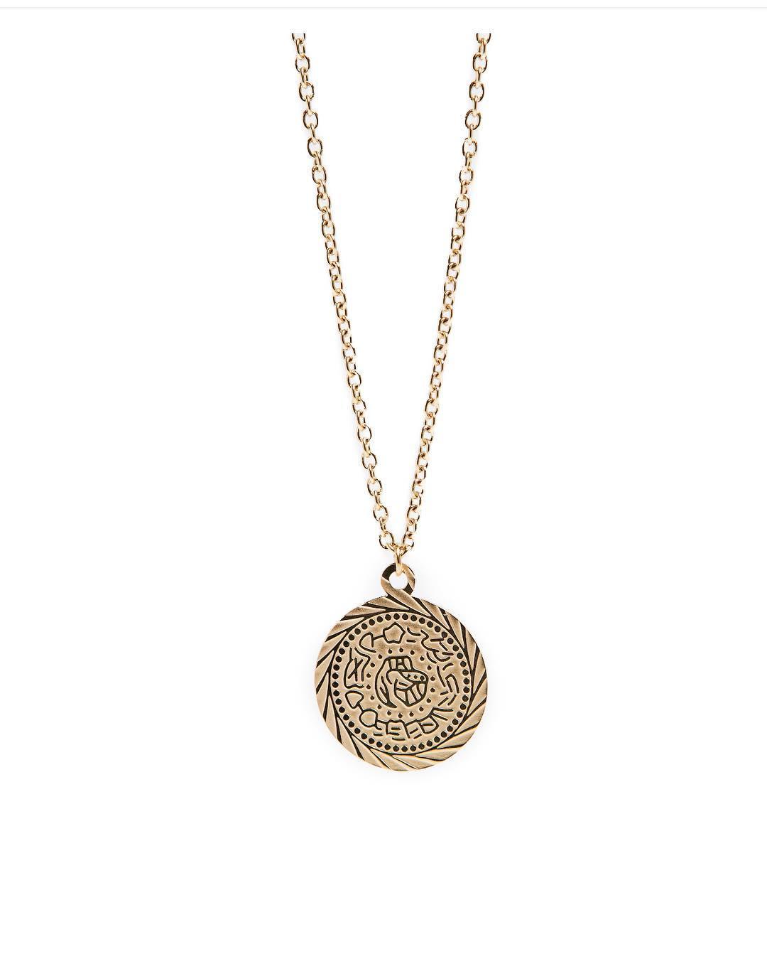 Silis halsketting Gypsy coin