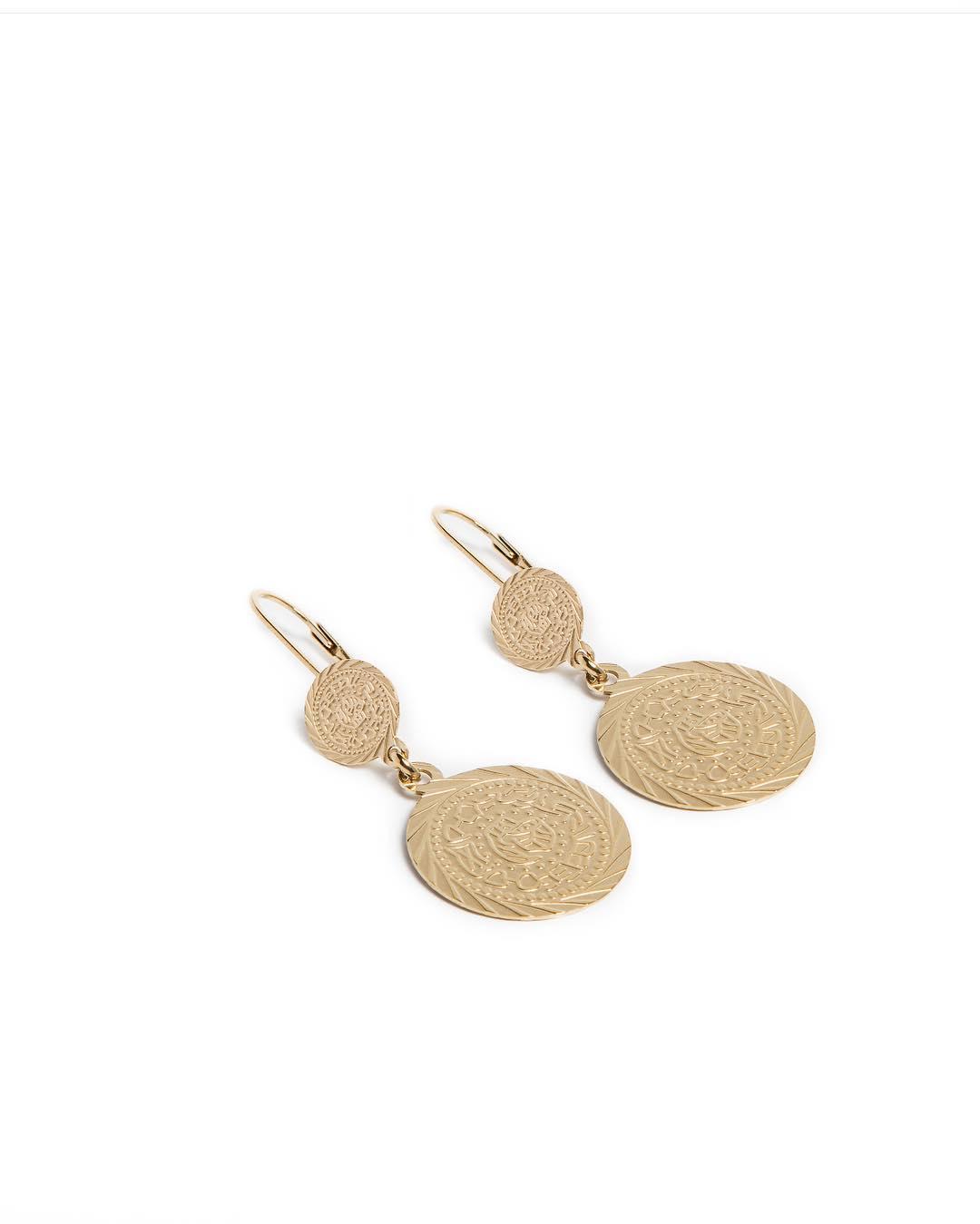 Silis oorbellen Gypsy coin