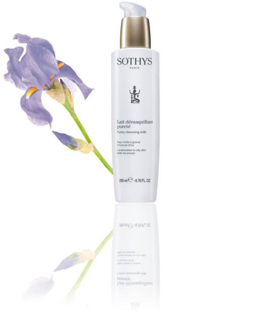 Sothys reinigingsmelk pureté voor de vette huid